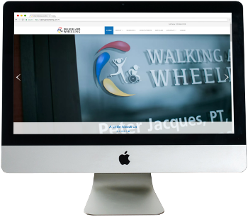 Picture of Walking and Wheeling Website.